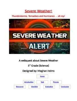 Severe Weather Webquest
