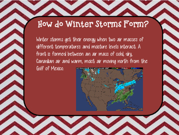 Severe Weather Winter Storms
