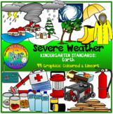 Severe Weather and Emergency Preparedness Clipart