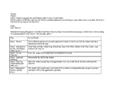 Severe and Profound SpEd Lesson Plan Template