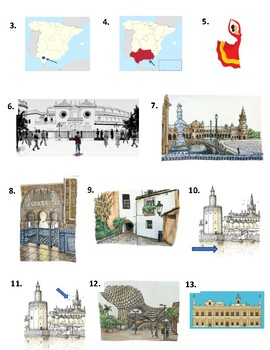 Sevilla en dos días - Video worksheet