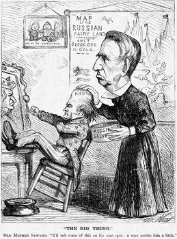 Seward's Folly Political Cartoon Analysis