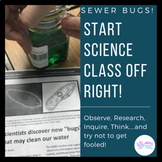 Sewer Bugs - the Best First Day of Science Class Ever!!