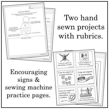 Sewing (Tools, Hand & Machine)