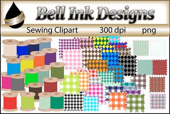Sewing Bundle Clipart