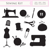 Sewing Machine SVG Knitting svg cutting files Cricut and S