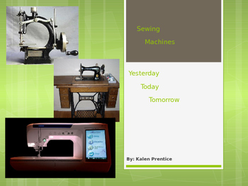 Sewing Machines Powerpoint