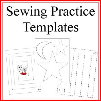Sewing Practice Templates