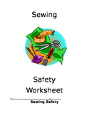 Sewing Safety Worksheet