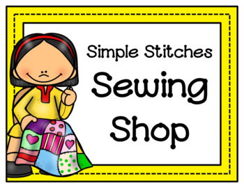 Sewing Shop Dramatic Play