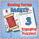 Sewing Terms Puzzle Bundle