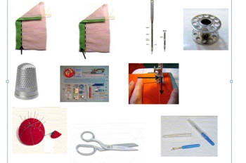 Sewing Tools and Terms PowerPoint