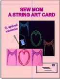 Sew MOM a String Art Card