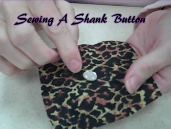 Sewing a Shank Button