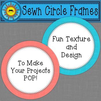 Sewn Circle Frames