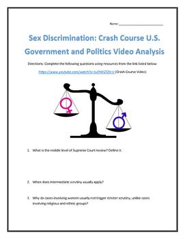 Sex Discrimination: Crash Course U.S. Government and Politics Video Analysis