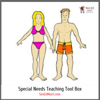 Sex Ed Mart Special Needs Teaching Tool Box