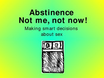 abstinence and safe sex