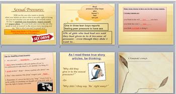 Health Lesson: Sex Education Pressure Lines + Assertive Refusals