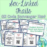 Sex-Linked Traits QR Code Scavenger Hunt