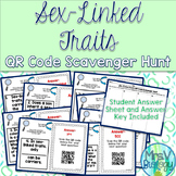 Sex-Linked Traits QR Code Scavenger Hunt