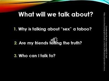 SEX TALK -  Under the Influence of Friends, PART 1