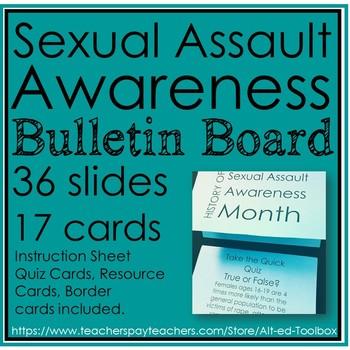 Sexual Assault Awareness Bulletin Board
