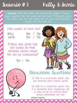 Sex Education Consent Scenarios and Teacher Notes