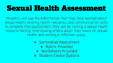 Sexual Health Views and Resources Assessment