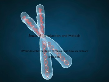 Sexual Reproduction & Meiosis