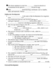 Sexual Reproduction in Animals Notes Outline Lesson Plan