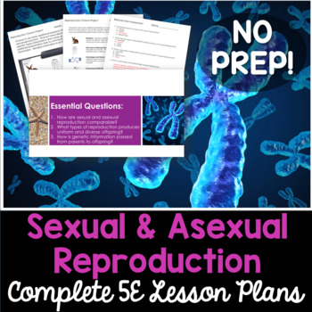 Sexual and Asexual Reproduction Complete 5E Lesson Plan