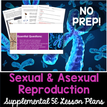 Sexual and Asexual Reproduction - Supplemental Lesson - No Lab