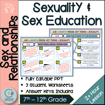 Sexuality Sex Education LGBT Month