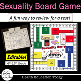 Health Lesson: Sexuality Board Game: A Fun Way to Review for a Test