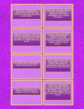 Sexuality and Relationship Question Cards