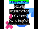 Sexually Transmitted Infections: Matching QUIZ 9-12