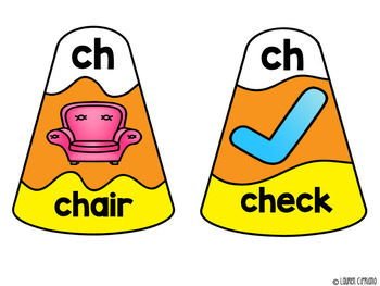 Fall Halloween Ch And Sh Digraph Puzzle