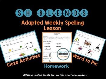 Sh Blend Spelling Unit