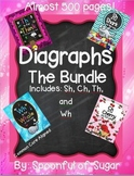 Sh, Ch, Wh, Th The Bundle (4 Diagraph Word Work Units)