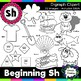 Sh Clipart - Beginning Digraph - sh, 20 images! For Person