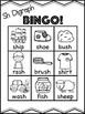Sh Digraph Bingo [10 playing cards]