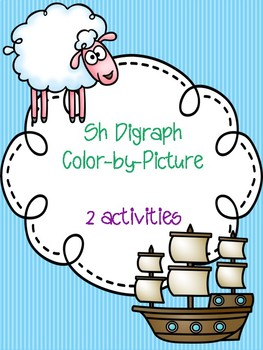 Sh Digraph Color-by-Picture