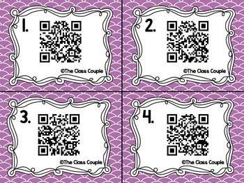 Sh Digraph QR Code Task Cards