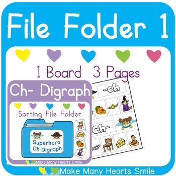 Sh Digraph Sorting File Folders: Get 3 for 2