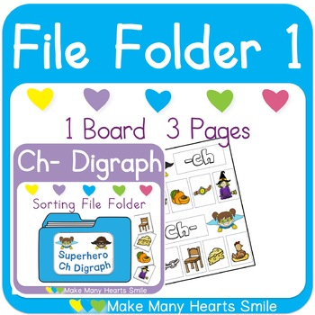 Sh Digraph Sorting File Folders: Get 3 for 2