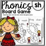 Sh PHONICS BOARD Game