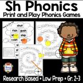 Sh Phonics Games