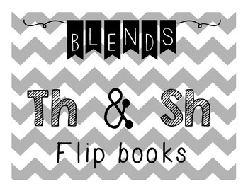 Sh & Th Flip Books