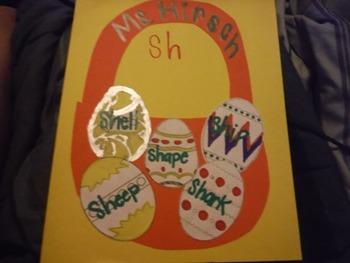 Sh- Words Easter Basket